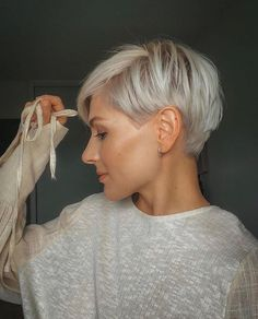 Pixie Haircut Styles, Short Pixie Haircuts, Curly Hair Styles, Pixie Haircut Thin Hair, Pixie Bob Hairstyles, Pixie Undercut Hair, Little Girls Pixie Haircuts, Haircuts For Boys, Short Hair With Undercut