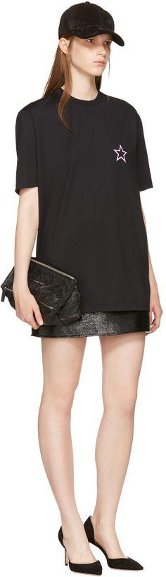 Givenchy - Black Single Star T-Shirt