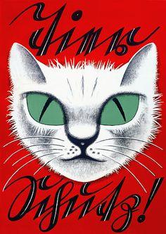 Animal Welfare 1920s Cat Vintage Posters Prints