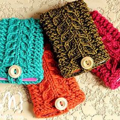 1000+ images about Knitted Christmas Gifts on Pinterest Crochet gifts, Gift...