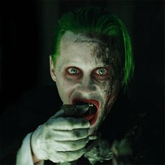 Jared Leto as The Joker From 'Suicide Squad'