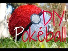 How to Make a Pokéball Piñata! - Pokémon - YouTube