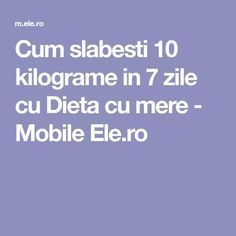 Cum slabesti 10 kilograme in 7 zile cu Dieta cu mere - Mobile Ele. Zumba, Health Fitness, Workout, Yoga, Medicine, Diets, Therapy, Drop Weight Fast, The Body