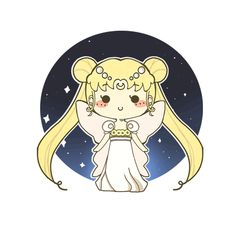 Sailor Moon Princess Serenity by MinjiXMuu-chan on DeviantArt Sailor Jupiter, Sailor Moon Gif, Sailor Moons, Sailor Moon Crystal, Sailor Moon Cakes, Arte Sailor Moon, Sailor Moon Fan Art, Sailor Neptune, Sailor Venus