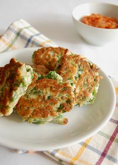 herb and spinach fritters recipe...
