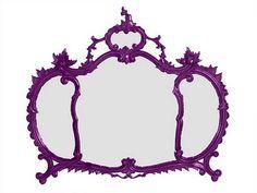 Specchio viola Crown, Interior Design, Mirror, Cool Stuff, Purple, Furniture, Jewelry, Home Decor, Nest Design