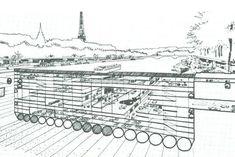 Utopies et avant-gardes: Paul Maymont - Paris sous la Seine 1962