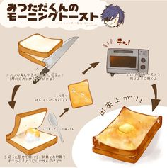 Kawaii Cooking, Aesthetic Food, Food Illustrations, Touken Ranbu, Food And Drink, Yummy Food, Sweets, Meals, Dishes