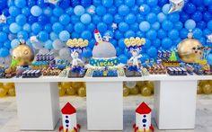 Festa Astronauta deve ser preparada com cerca de três meses de antecedência e é indicada para meninos com até oito anos.