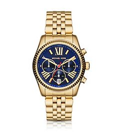 Petite Lexington Gold-Tone Watch by Michael Kors