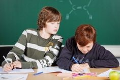 """From peeking at someone else's cards during a game of """"Go Fish!"""" to copying answers on a test as an adolescent, the stark reality is that some children cheat. Everything from peer pressure and fear to the available means to take the easy way out, along with a variety of other factors, can cause children to cheat."""