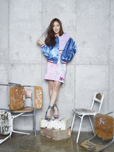 SinB (G-Friend) - MAPS Magazine October Issue '15