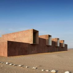 Peruvian museum by Barclay & Crousse replaces another destroyed by earthquake