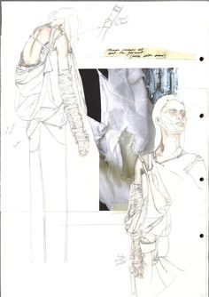 Getting to know Fashion Folio students at Central Saint Martins- Fashion Sketchbook – fashion design development; Portfolio Design, Mode Portfolio Layout, Fashion Portfolio Layout, Fashion Design Sketchbook, Fashion Illustration Sketches, Drawing Sketches, Fashion Sketches, Drawing Fashion, Portfolio Ideas