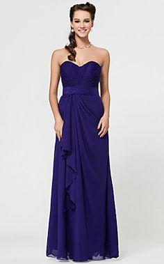 ANTIOCH+-+Vestido+de+Dama+de+honor+de+Gasa+–+USD+$+97.99