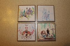 Add Glamour and Protect Your Furniture With These Cinderella Coasters