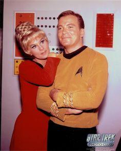 Jim Kirk and Janice Rand  - star-trek-the-original-series Photo