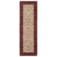 Safavieh PL533A Persian Legend Ivory and Rust Area Rug