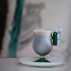 El yapımı cam fincanlar Puuku.com' da...  #handmade #cup #cups #coffee #love #art #puuku