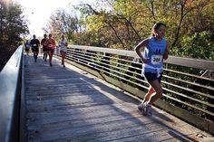 Bear Creek Run Half Marathon - Bear Creek Trail Bridge in Columbia, MO