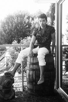 Joe Jonas by Jacob Dekat For Galore Magazine Summer 2014 Issue