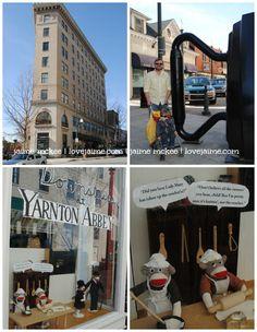 Our downtown Asheville excursion #Asheville #travel