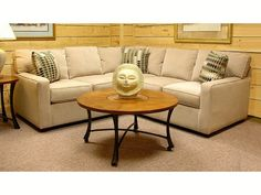 Small Sectional small scale sectional sofa | ideas for the house | pinterest