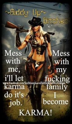 i can play karma if i have to! Don't mess with TEXAS bitches! Ur huge 2 ton ass don't scare n e one! Boss Bitch Quotes, Gangsta Quotes, Karma Quotes, Sassy Quotes, Badass Quotes, Girl Quotes, Wisdom Quotes, True Quotes, Woman Quotes