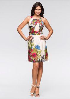 Šaty S letnou kvetinovou potlačou • 27.99 € • Bon prix