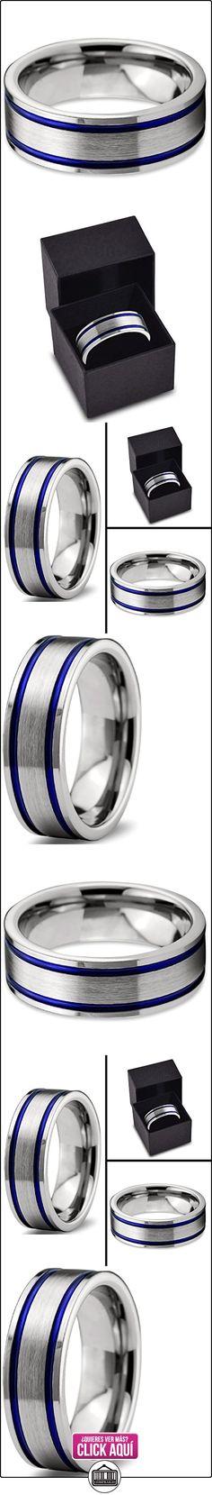 Chroma Color Collection   Tungsten Carbide  tungsteno      FASHIONRING  ✿ Joyas para hombres especiales - lujo ✿ ▬► Ver oferta: https://comprar.io/goto/B01HLOZOSU