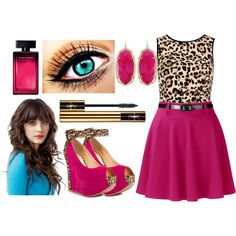 Love this! Featuring Rox Ee - Fuchsia Leopard Luichiny