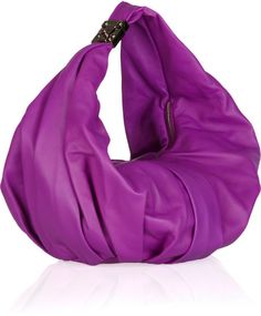 Marni Pleated Leather Hobo Bag