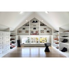 39 attic rooms cleverly making use of really beautiful attic storage ideas beautiful attic ideas anization cool attic es and ideas attic bedroom remodel value 16 Attic Design Ideas To … Attic Closet, Attic Playroom, Attic Office, Attic Wardrobe, Attic Library, Garage Attic, Playroom Design, Room Closet, Attic Renovation