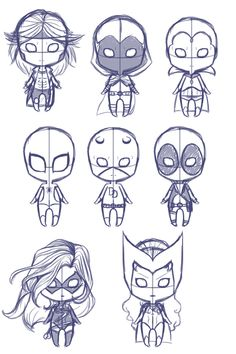 Marvel chibis by Shadowdream-was-here.deviantart.com on @deviantART