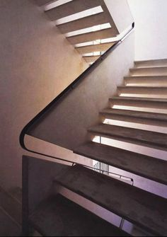Cesare Cattaneo, Casa d'Affitto, Cernobbio // Damn this stair detail is just a killer