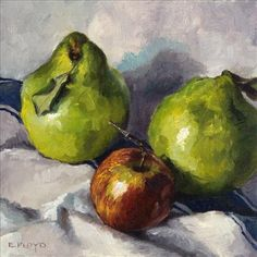 Quinces and Apple Grape Nutrition, Green Grapes Nutrition, Still Life Fruit, Fruit Painting, Fruits And Vegetables, Paintings, Apple, Art, Apple Fruit