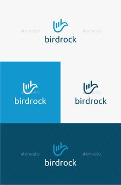 Bird Rock - Logo Template