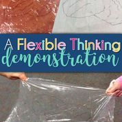 This flexible thinking demonstration is a MUST SEE! Check out this great idea for your students who are struggling with being flexible. #social #skills #ASD #autism #SLP #speech #therapy #OT #rockbrain #visual #ideas #activities #classroom