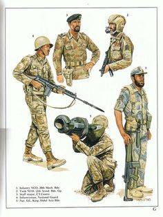 by Zhukov - The Military History Emporium: Photo Saudi Military, Military Art, Military History, Army Drawing, Soldier Drawing, Army Uniform, Military Uniforms, Military Drawings, Military Pictures