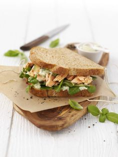 Ladies Night Out Picnic: Cucumber-Salmon-Watercress Sandwiches