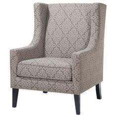 Madison Park Barton Wing Chair & Reviews   Wayfair