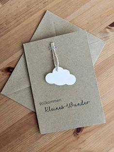Card for birth Paper Cards, Diy Paper, Birthday Calendar Board, Karten Diy, Baby Scrapbook, Creative Cards, Baby Cards, Diy For Kids, Wedding Cards