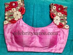Simple Floral Blouse Designs | Saree Blouse Patterns