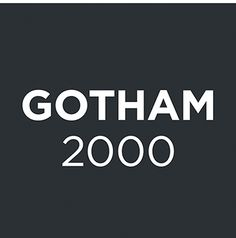 Credit: Domenic Lippa GothamReleased in 2000 by Hoefler and Frere-Jones, this clean, modern sans serif typeface has be...