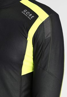 Gore Running Wear AIR - Sports jacket - black/neon yellow for £77.99 (13/02/17) with free delivery at Zalando