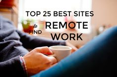 The ultimate list of resources to land a remote job and create the flexible life you've been dreaming of.