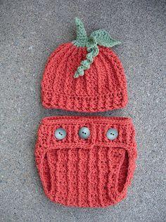 Ravelry: Pumpkin Diaper Cover pattern by Crochet by Jennifer
