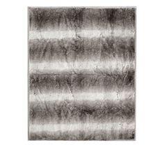 Faux Fur Oversized Throw, 60 x 80