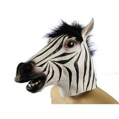 Zebra head to go with the horse head