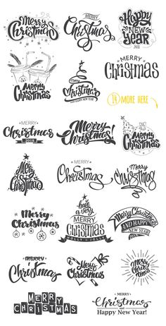 20 Christmas Overlays by Rosline on @creativemarket